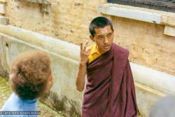 (36886_pr-3.tif) Kopan Monastery, Jan Willis Lama Zopa Rinpoche, 1969. Jan Willis (donor),