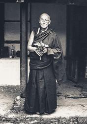 (38009_ud-3.jpg) Getsulma Robina Courtin, Tushita Retreat Centre, Dharamsala, India, 1978. Sylvia Wetzel (photographer)