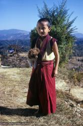 (39320_sl-3.jpg) Yangsi Rinpoche, Kopan Monastery, 1976.