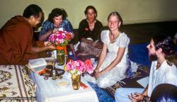 (39389_sl-3.psd) Wedding of Danny and Molly Laine, UCSC (University of Calif. at Santa Cruz), 1978.   Dan Laine (donor)