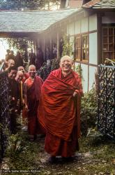 (39411_sl-3.psd) Geshe Dhargyey, Tushita Retreat Centre, Dharamsala, India, 1978.