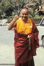 (39424_ng-3.JPG) Lama Yeshe, Zurich, Switzerland, 1978. Ueli Minder (photographer)