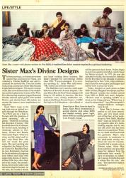 (39431_pr-3.jpg) Time Magazine article on Sister Max Mathew's fashion, September 12 1983.