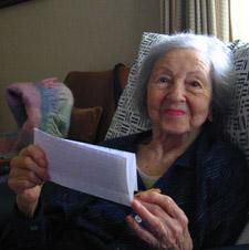 Bea Ribush, 2007. Photo by Wendy Cook.