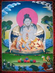The great yogi, Thangtong Gyalpo (1385–1464)