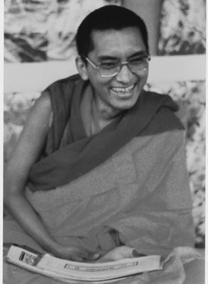 Kyabje Lama Zopa Rinpoche