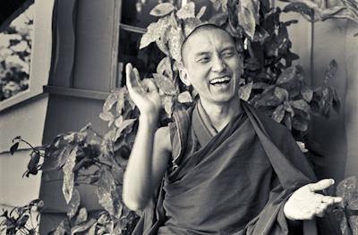 Lama Zopa Rinpoche after the first US course in California, 1975. Photo: Carol Royce-Wilder.