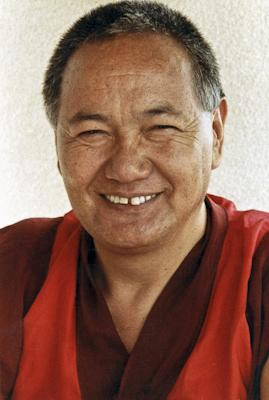 Lama Yeshe, Geneva, Switzerland, 1983. Photo by Ueli Minder.