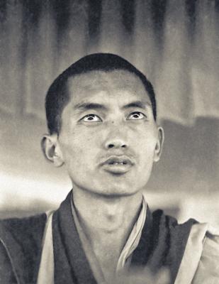 Lama Zopa Rinpoche teaching at the Fifth Meditation Course, Kopan Monastery, Nepal, 1973. Photo: Ursula Bernis.