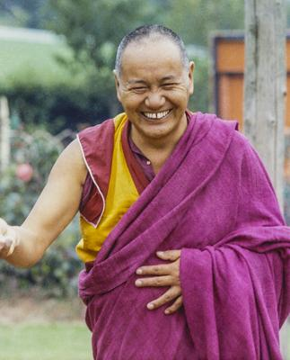 Lama Yeshe, Manjushri Institute, England,1982.