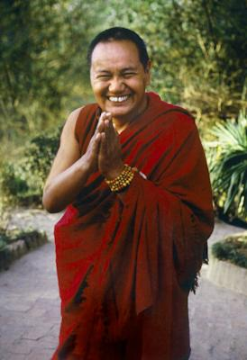 Lama Yeshe, Kopan Monastery, Nepal, 1981. Photo: Merry Colony