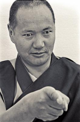 Portrait of Lama Yeshe, 1975.
