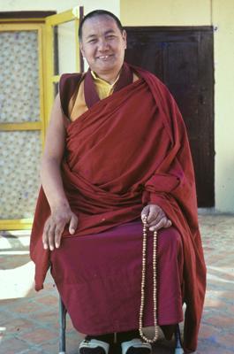 Lama Yeshe at Kopan Monastery, Kathmandu, Nepal 1982. Photo: Dan Laine.