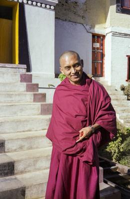 Lama Zopa  Rinpoche at the 12th Kopan Meditation Course, Kathmandu, Nepal, 1979.