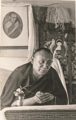 Geshe Ngawang Dhargyey. Photo: Deborah Alterman.