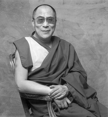 His Holiness the Dalai Lama. Photo: Clive Arrowsmith.
