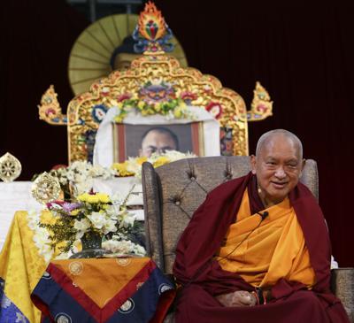 Lama Zopa Rinpoche, Bendigo, Australia, September 2014.