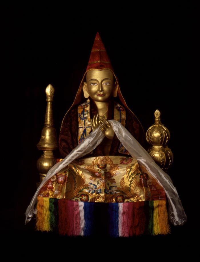 The great Indian scholar and yogi, Lama Atisha.