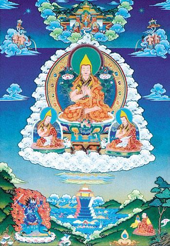 Lama Tsongkhapa. Photo courtesy of FPMT.