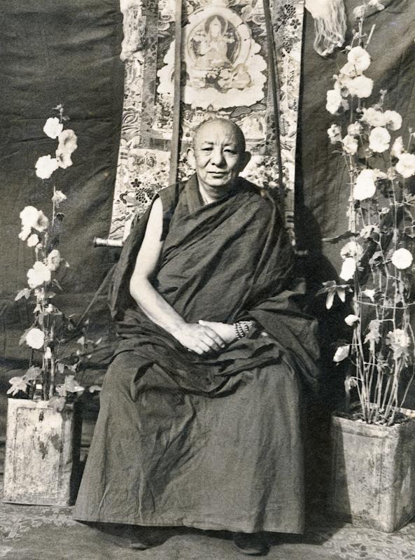 Serkong Tsenshab Rinpoche. Photo by Don Laine.