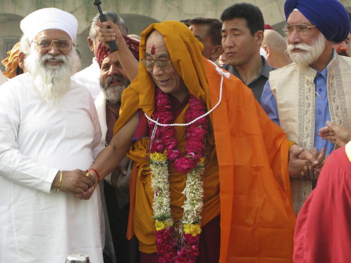 His Holiness the Dalai Lama in India. Photo: Fabrizio Pallotti.