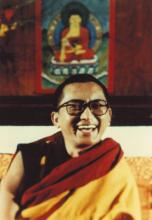 Lama Zopa Rinpoche. From the collection of Francesco Prevosti.