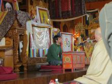 Tenzin Ösel Hita teaching at Kopan Monastery, Nepal, 2012.