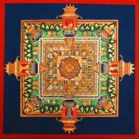 Medicine Buddha mandala. Photo courtesy of FPMT.