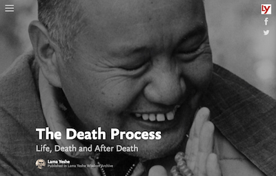 the process of life after death