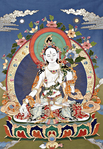 White Tara. Courtesy of FPMT Foundation Store.